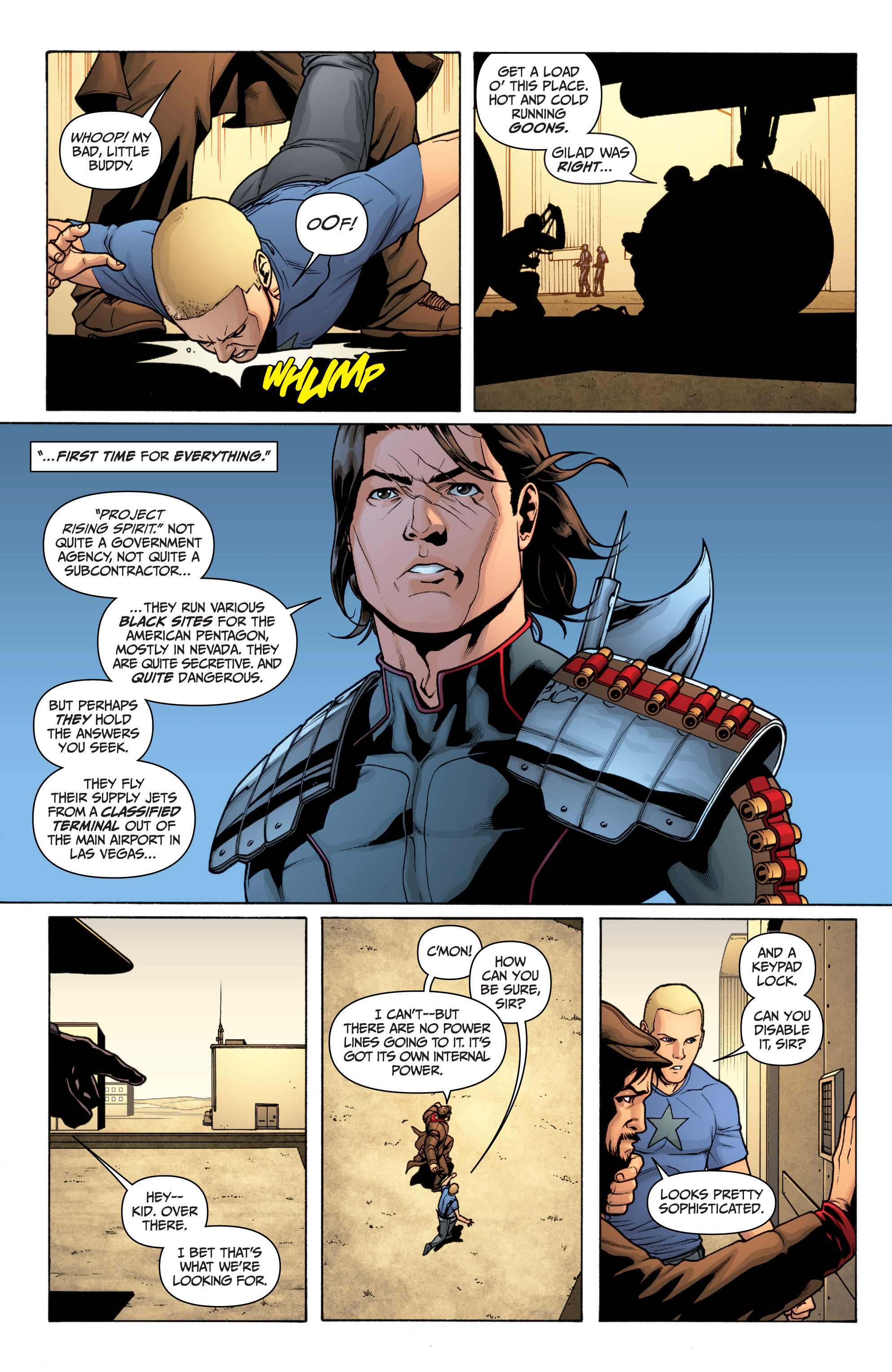 Read online Archer and Armstrong comic -  Issue #0 - 24