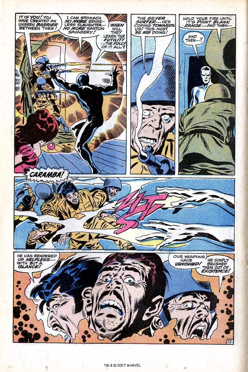 Read online Silver Surfer (1968) comic -  Issue #11 - 18