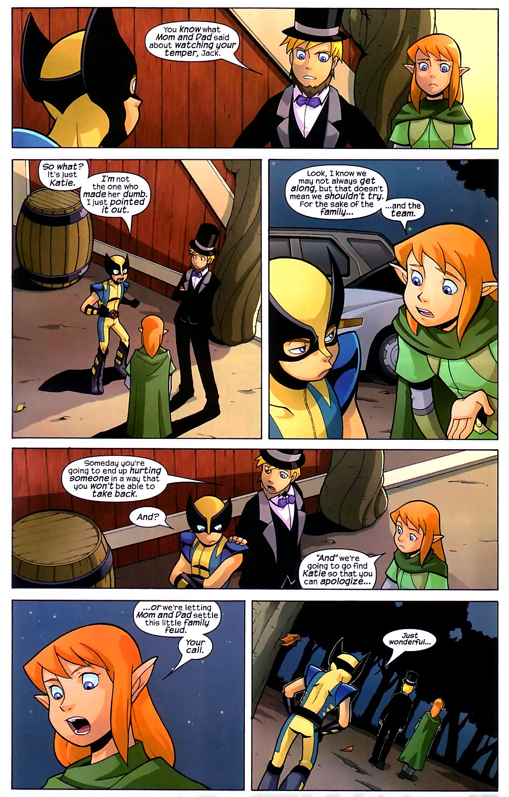 Read online X-Men and Power Pack comic -  Issue #1 - 10