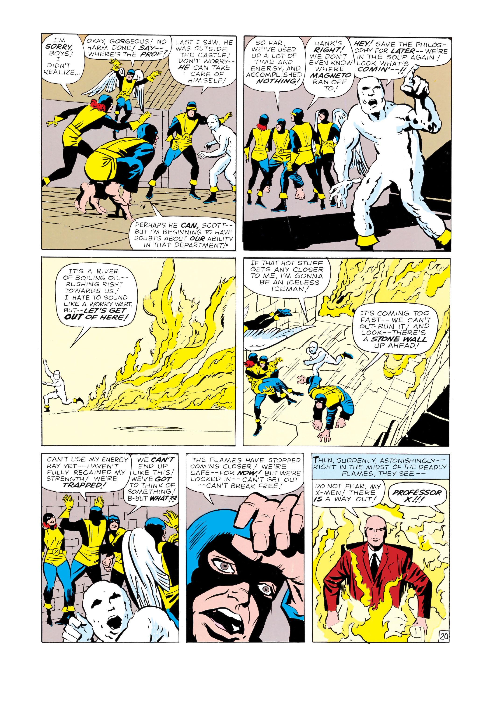 Read online Uncanny X-Men (1963) comic -  Issue #4 - 21