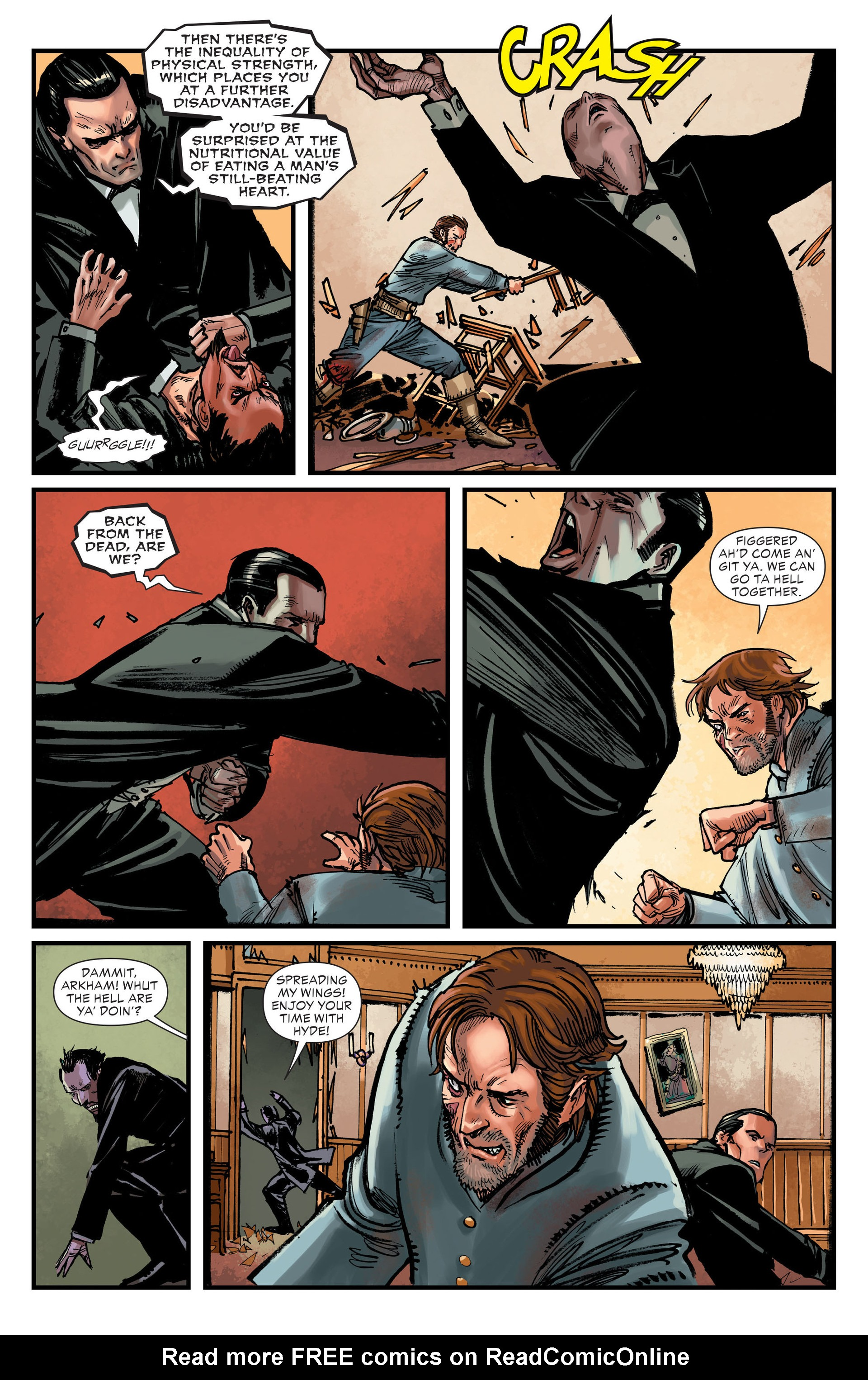 Read online All-Star Western (2011) comic -  Issue #15 - 12