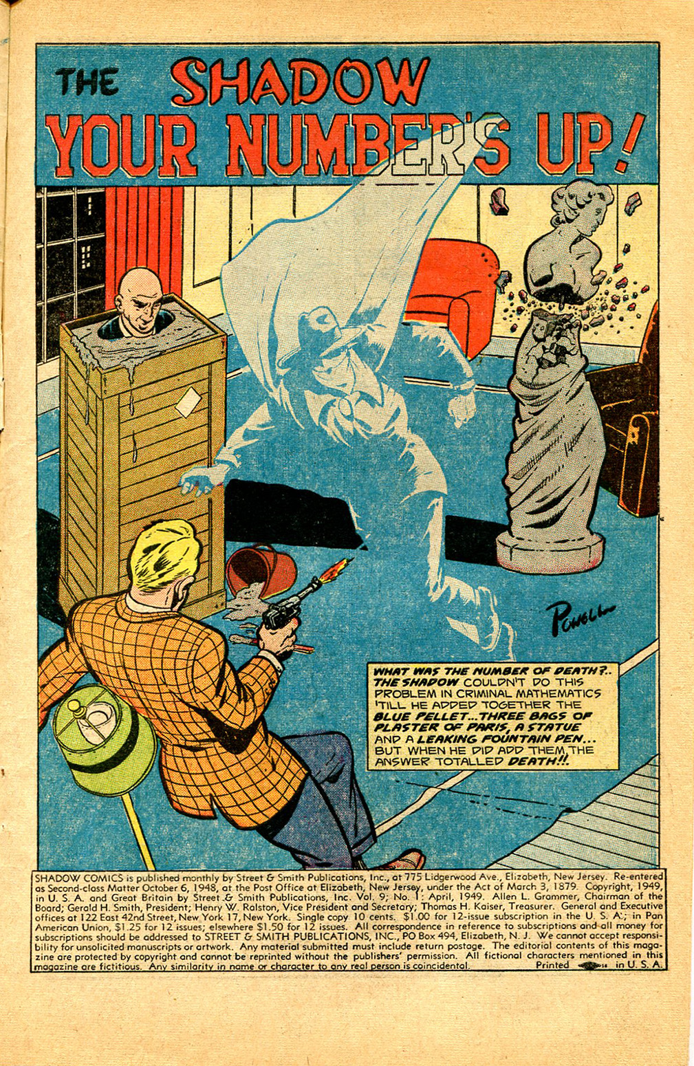 Read online Shadow Comics comic -  Issue #97 - 3