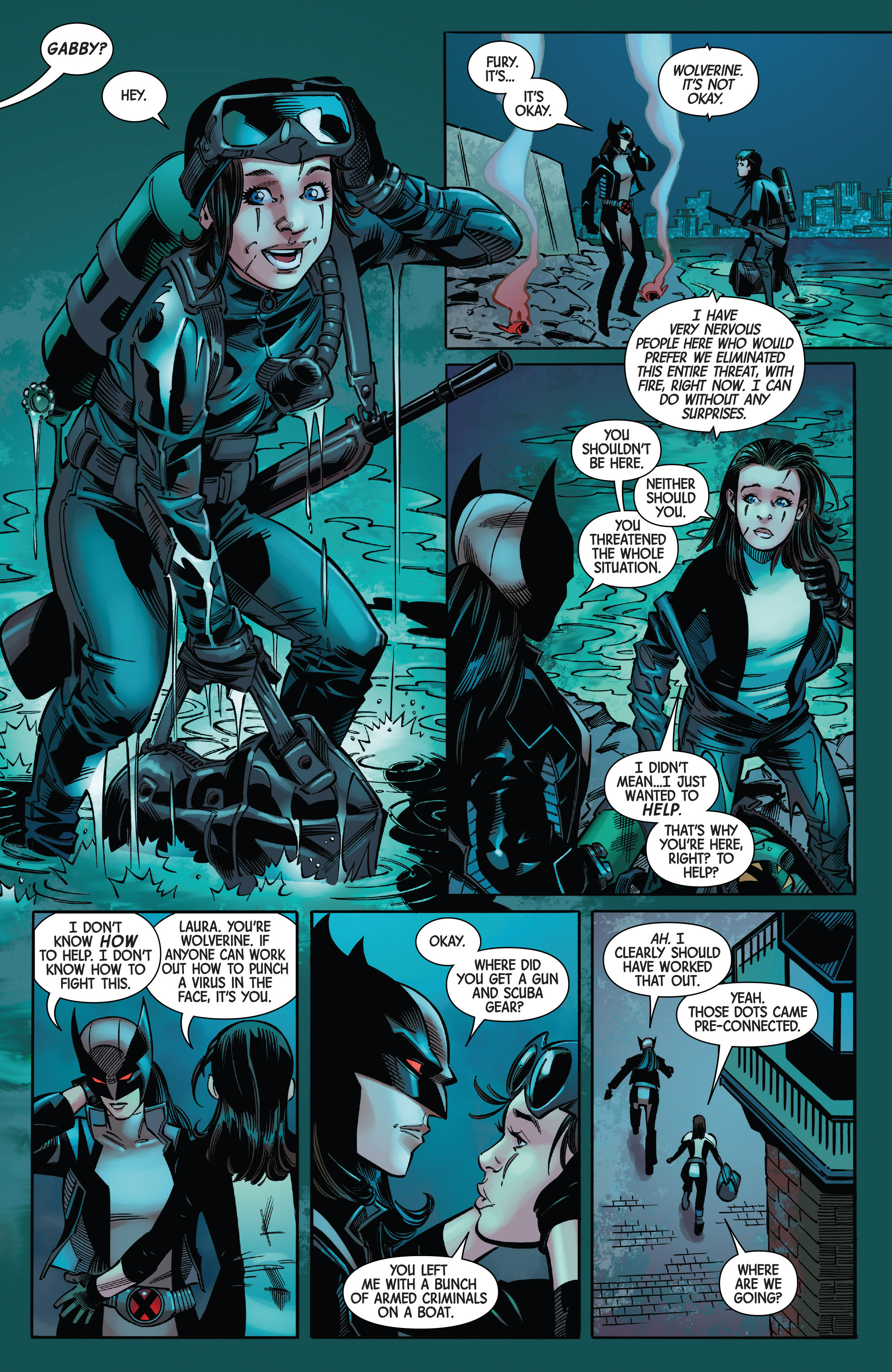 Read online All-New Wolverine (2016) comic -  Issue #20 - 9