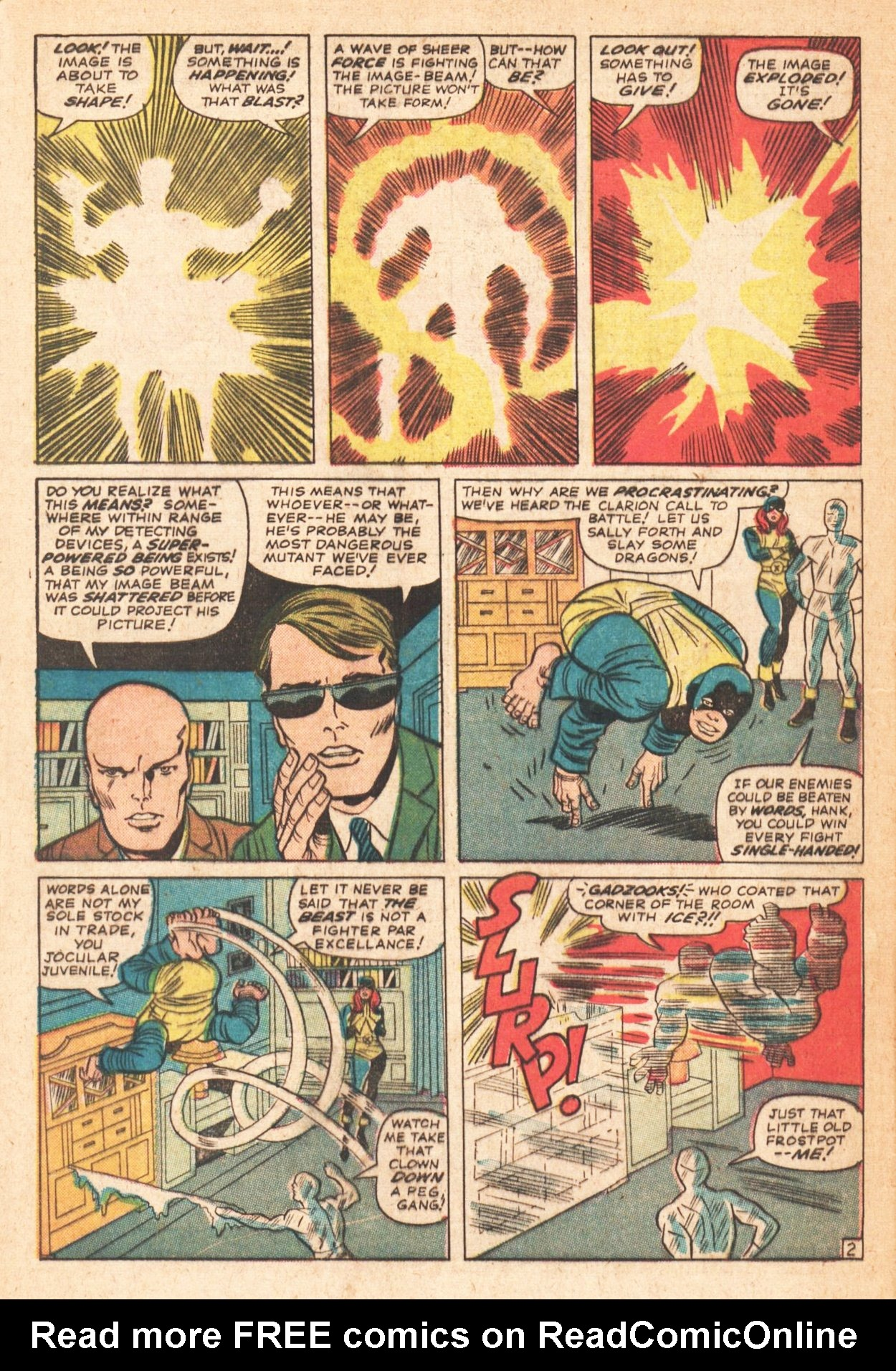 Read online Uncanny X-Men (1963) comic -  Issue # _Annual 1 - 29