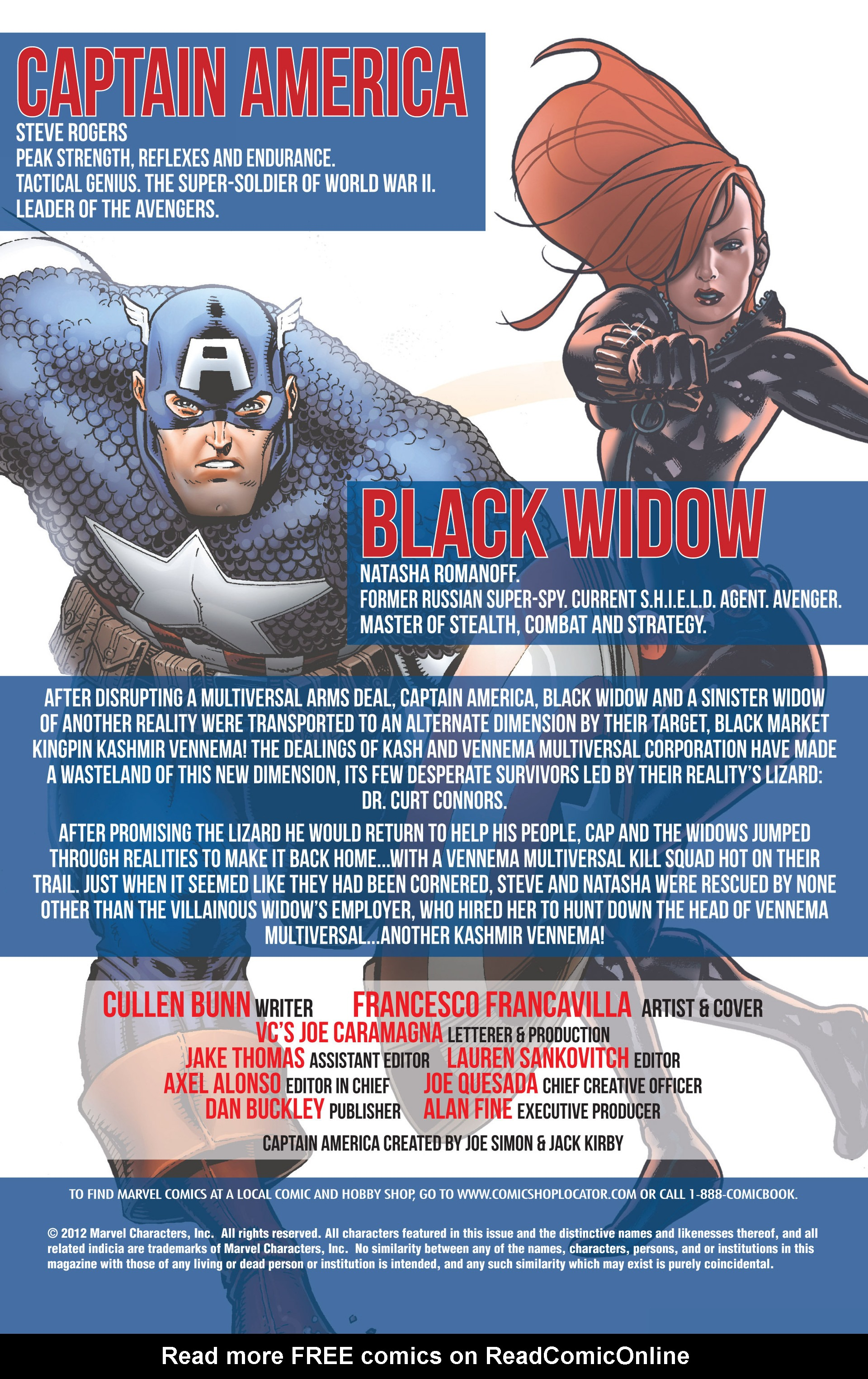 Read online Captain America And Black Widow comic -  Issue #640 - 2