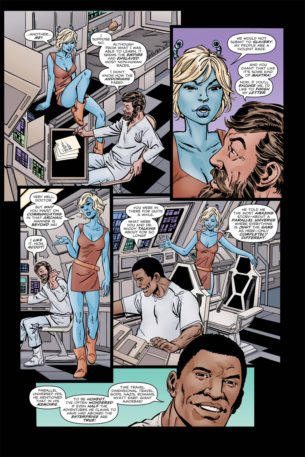 Read online Star Trek: Leonard McCoy, Frontier Doctor comic -  Issue #2 - 6