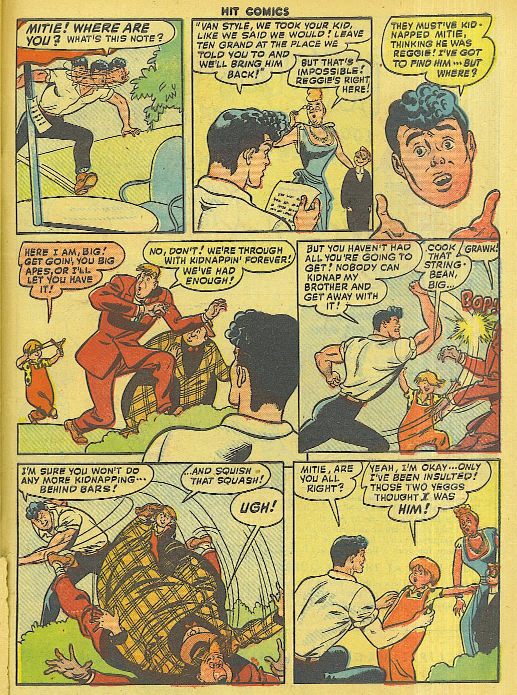 Read online Hit Comics comic -  Issue #56 - 47