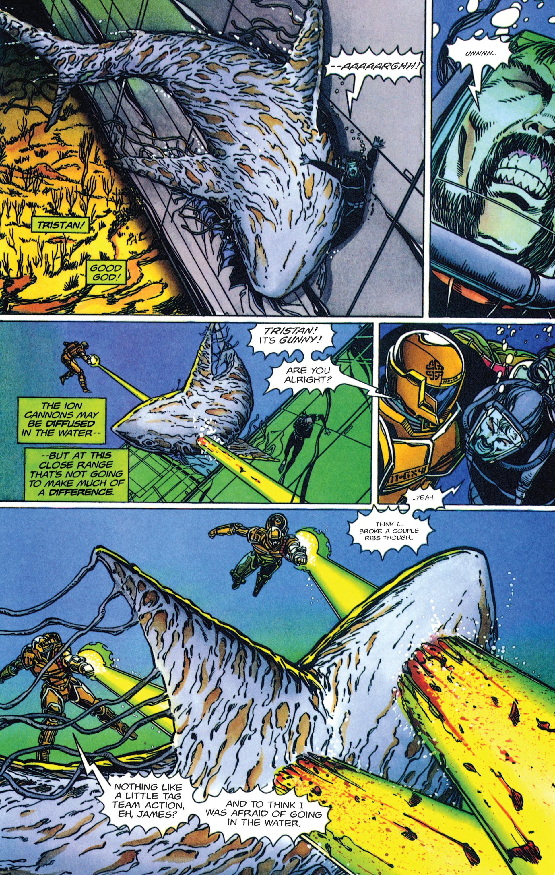 Read online Armorines comic -  Issue #2 - 6