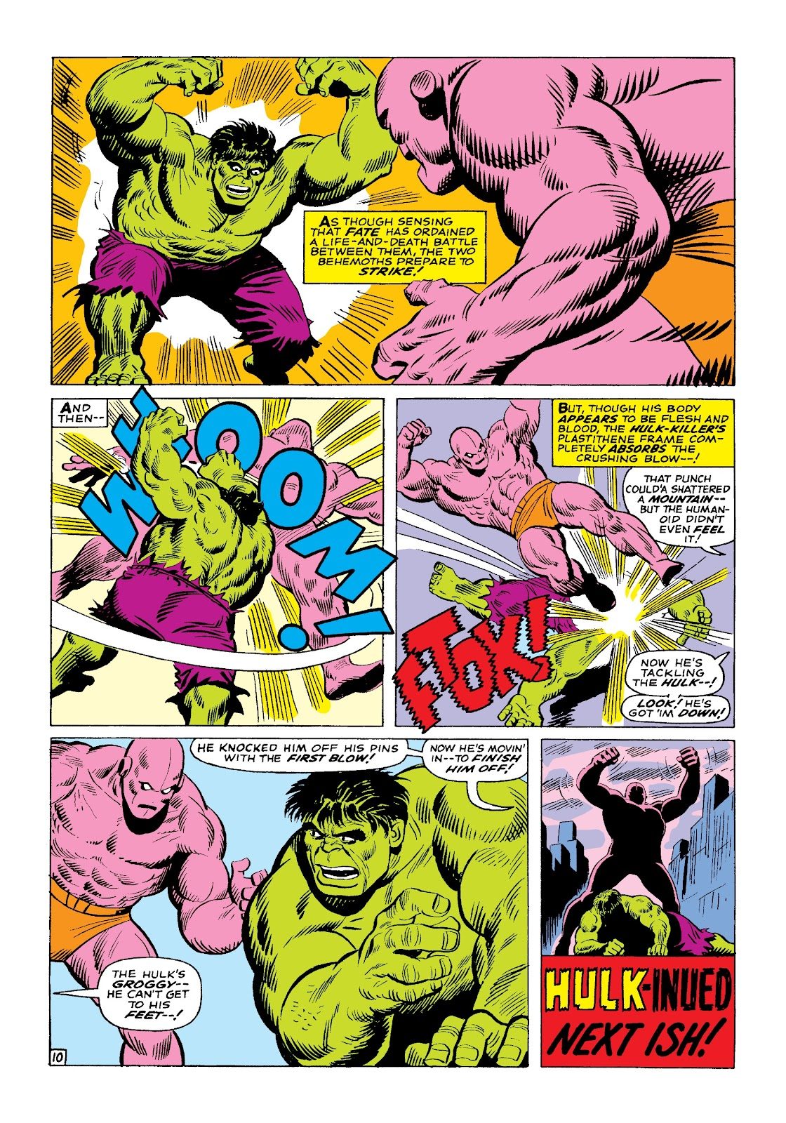 Read online Marvel Masterworks: The Incredible Hulk comic -  Issue # TPB 3 (Part 1) - 83
