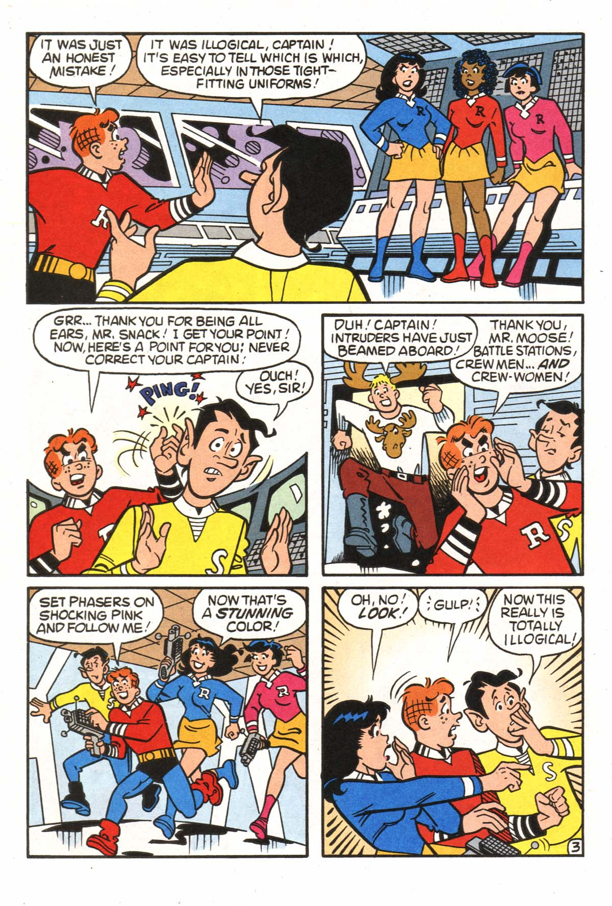 Read online Archie (1960) comic -  Issue #522 - 19
