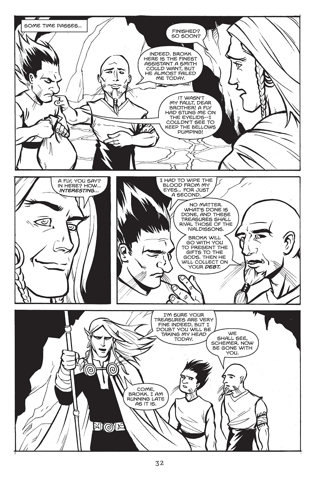Read online Gods of Asgard comic -  Issue # TPB (Part 1) - 33