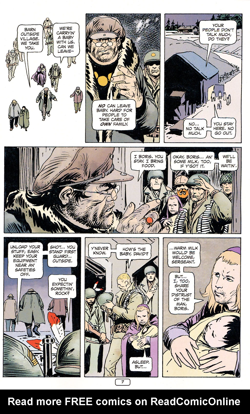 Read online Sgt. Rock: The Prophecy comic -  Issue #5 - 7