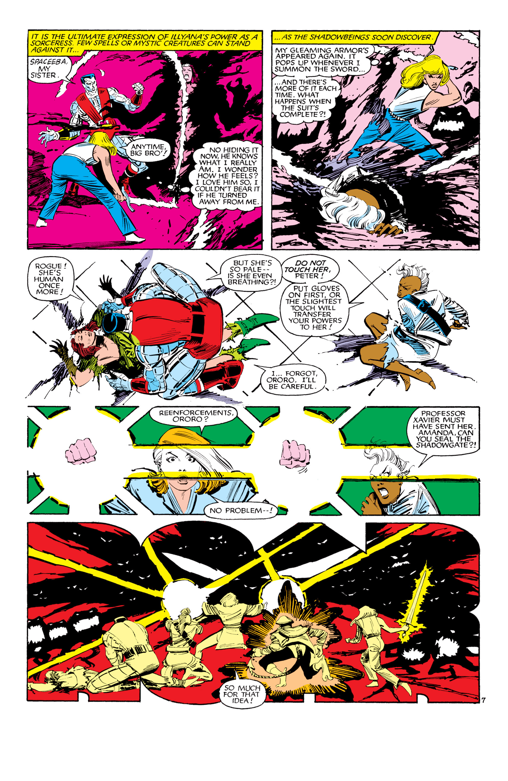 Read online Uncanny X-Men (1963) comic -  Issue #188 - 8