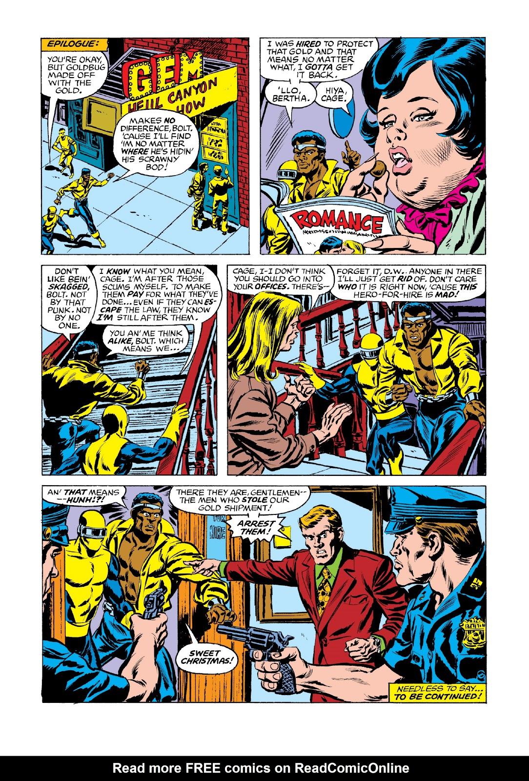Read online Marvel Masterworks: Luke Cage, Power Man comic -  Issue # TPB 3 (Part 3) - 8