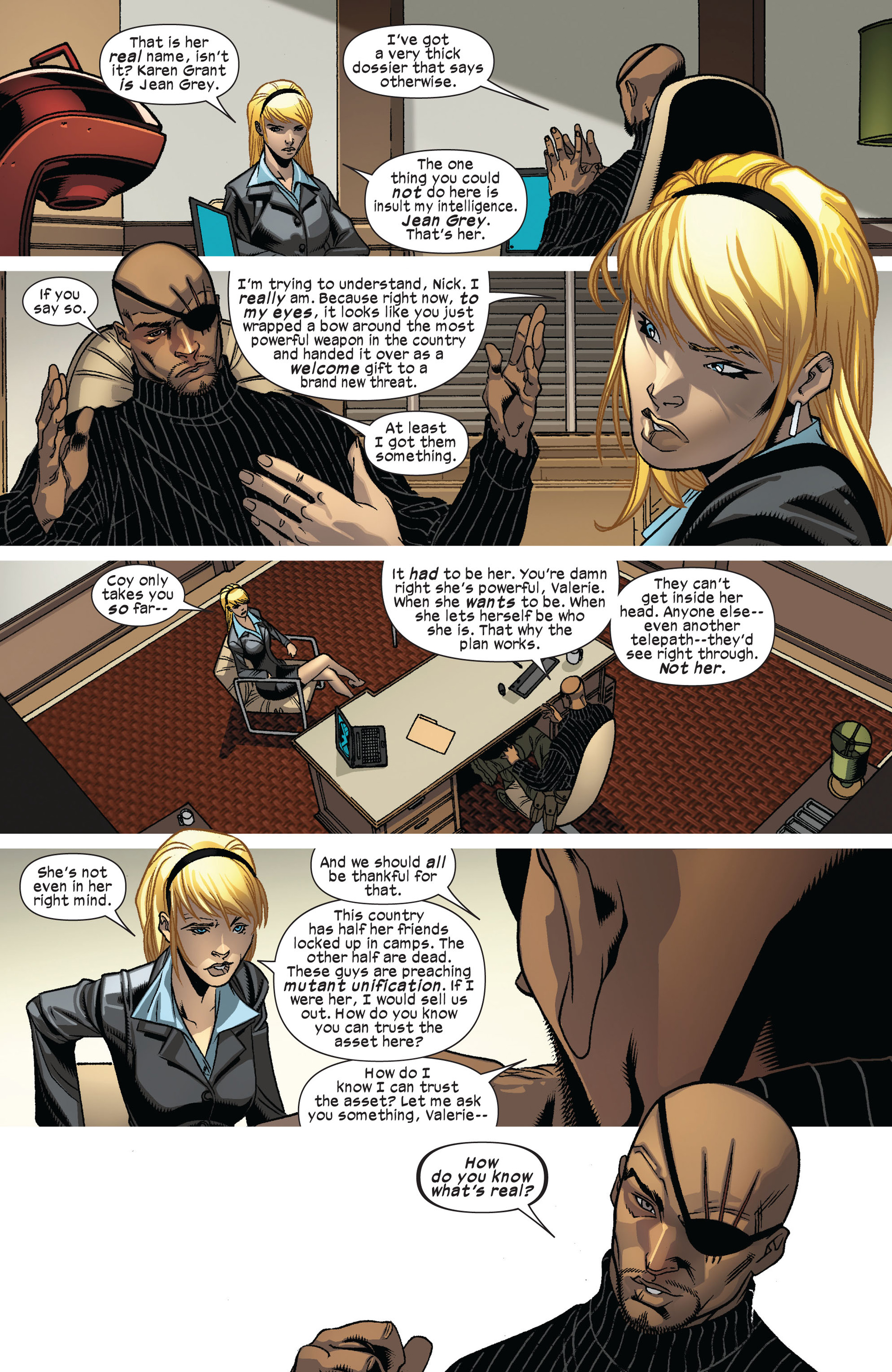 Read online Ultimate Comics X-Men comic -  Issue #8 - 14