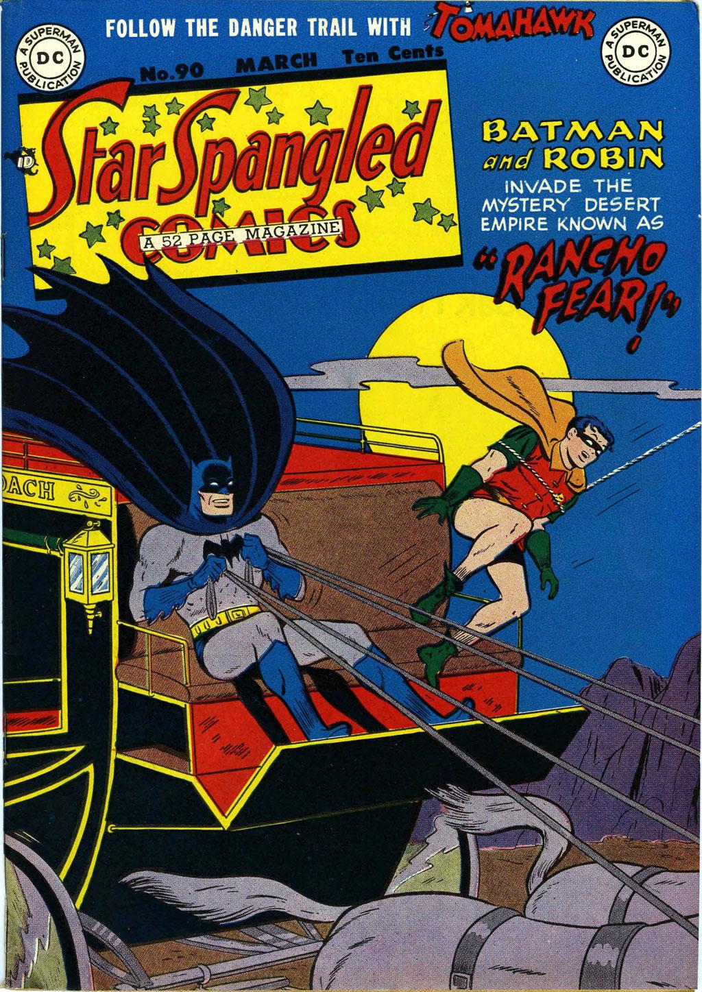 Star Spangled Comics (1941) 90 Page 1