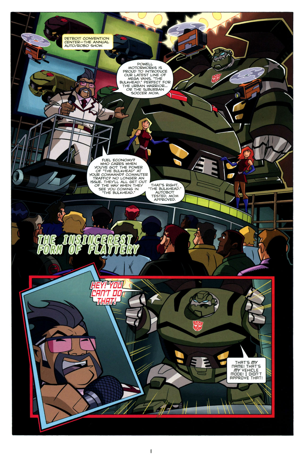 Read online Transformers Animated: The Arrival comic -  Issue #4 - 4