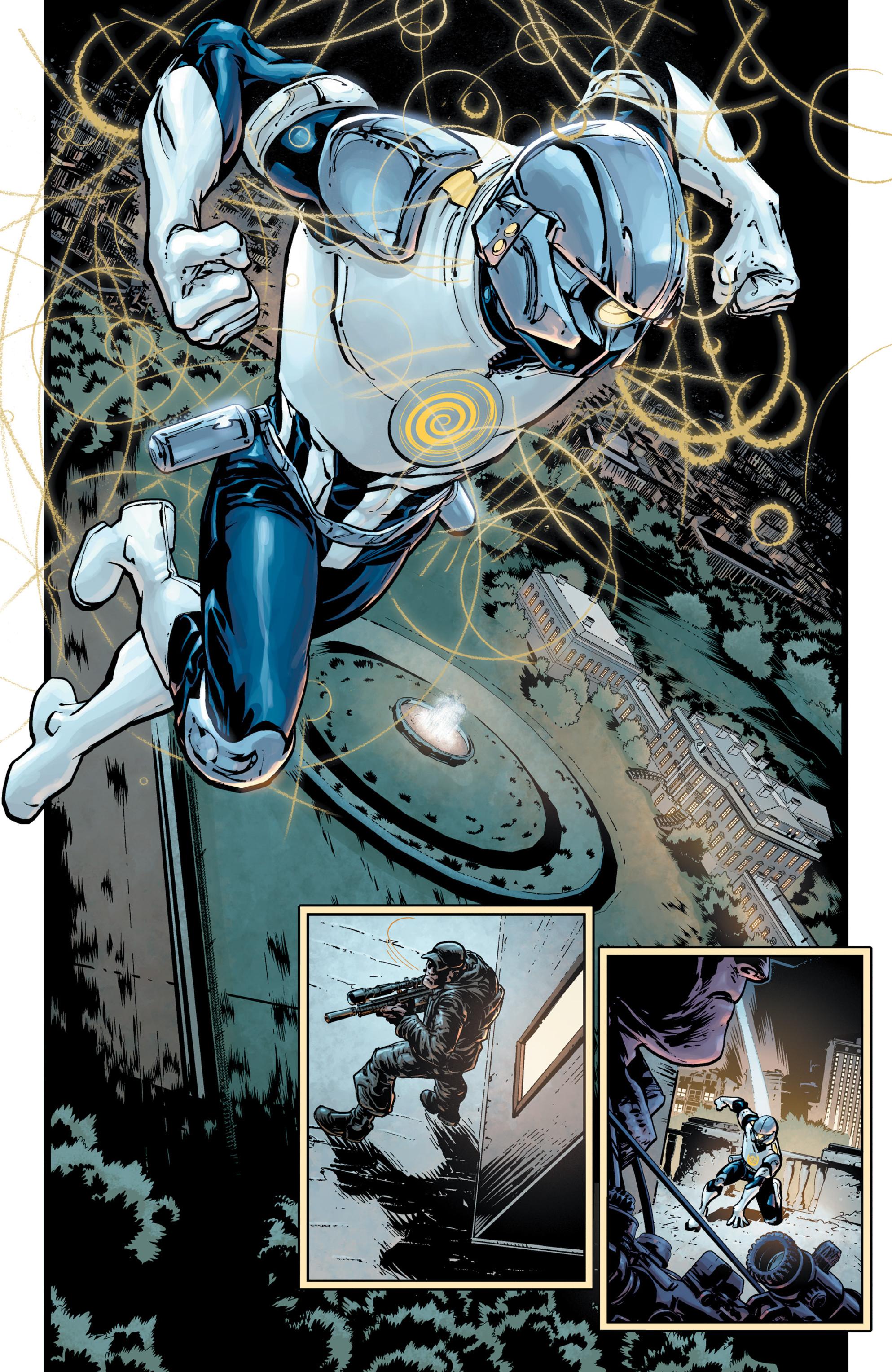 Read online Brain Boy:  The Men from G.E.S.T.A.L.T. comic -  Issue # TPB - 9