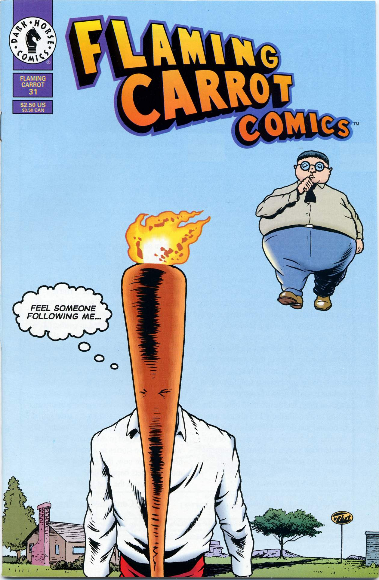 Read online Flaming Carrot Comics (1988) comic -  Issue #31 - 22