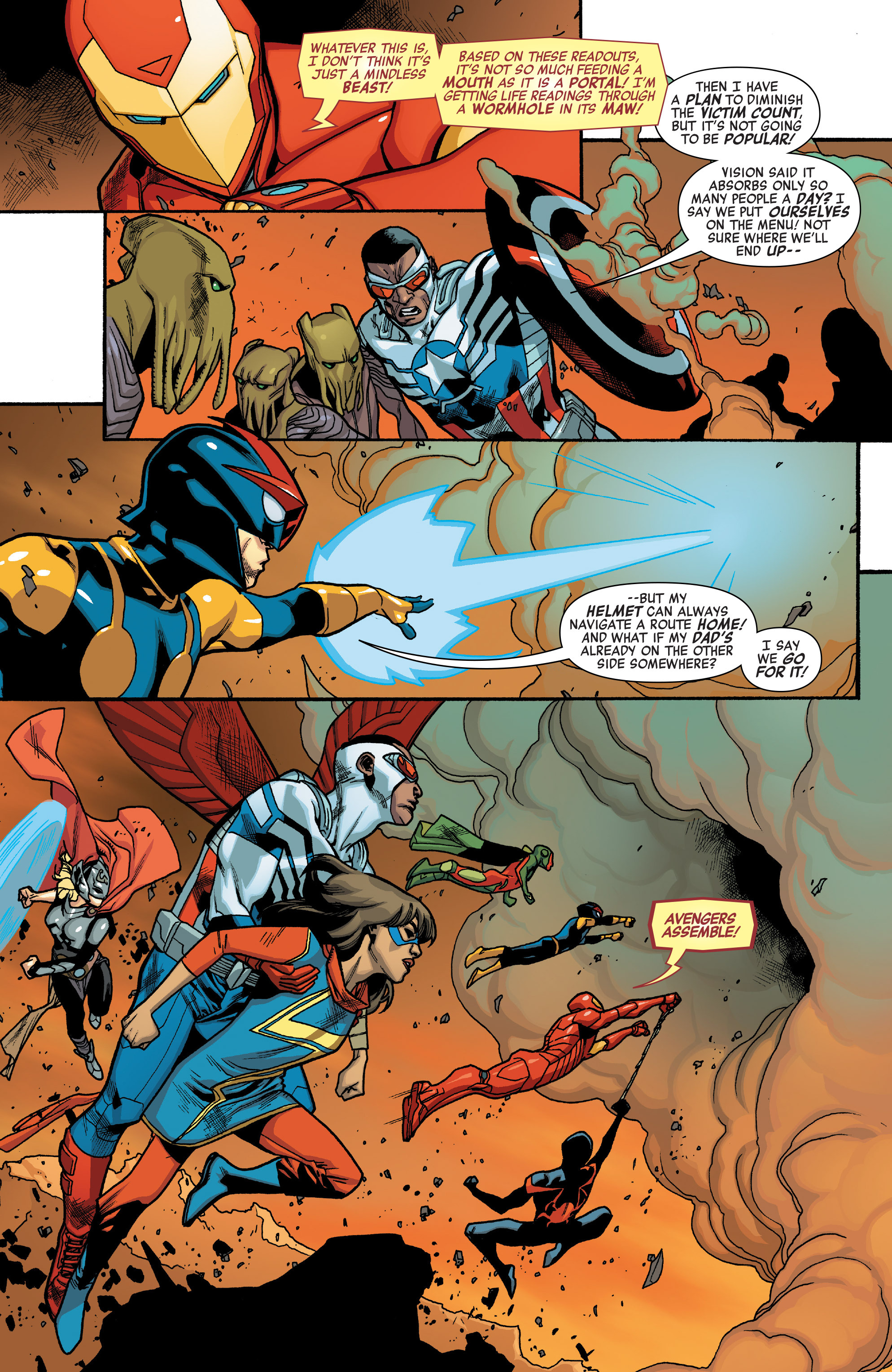 Read online All-New, All-Different Avengers comic -  Issue #10 - 17