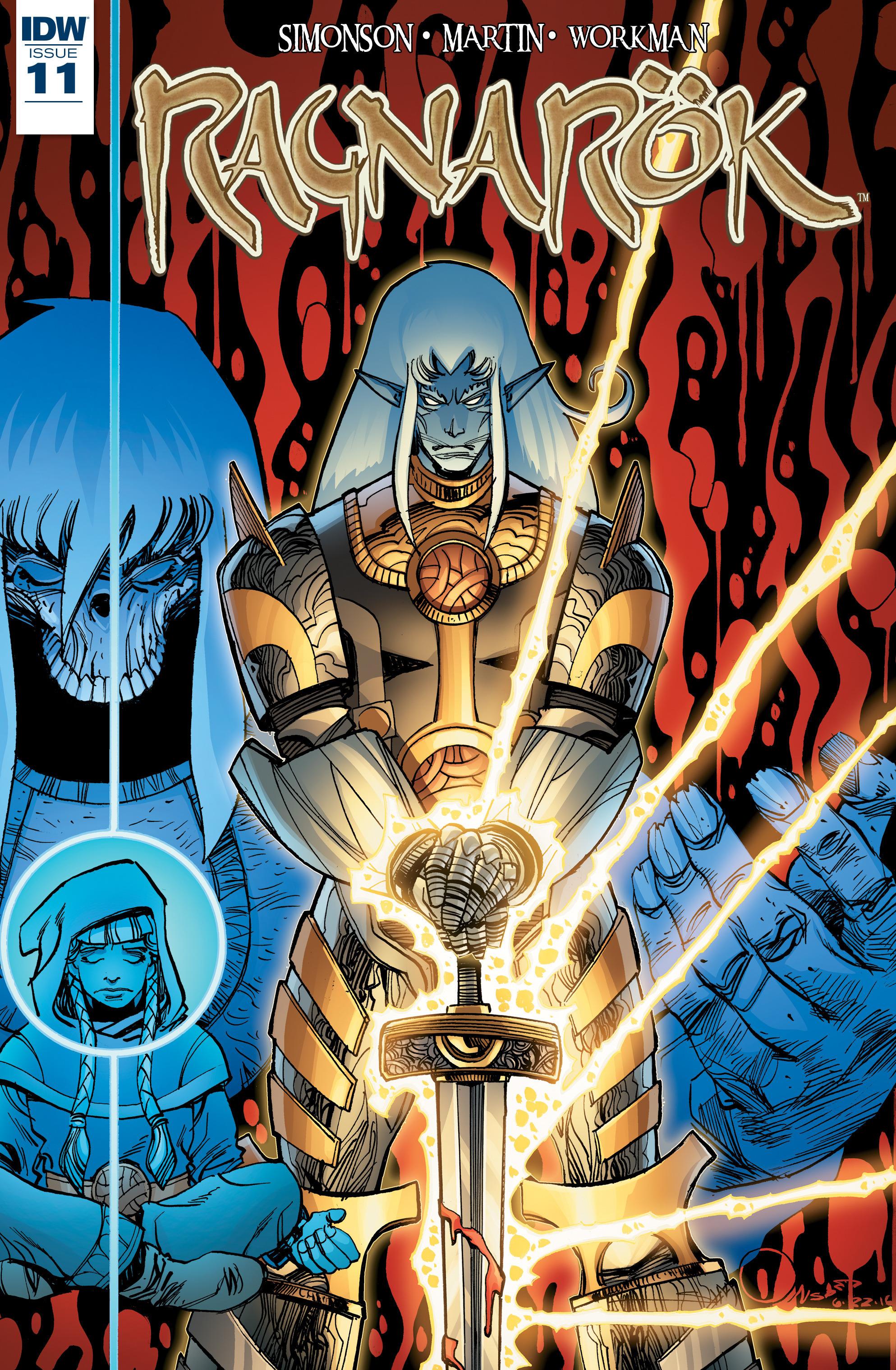 Ragnarok issue 11 - Page 1