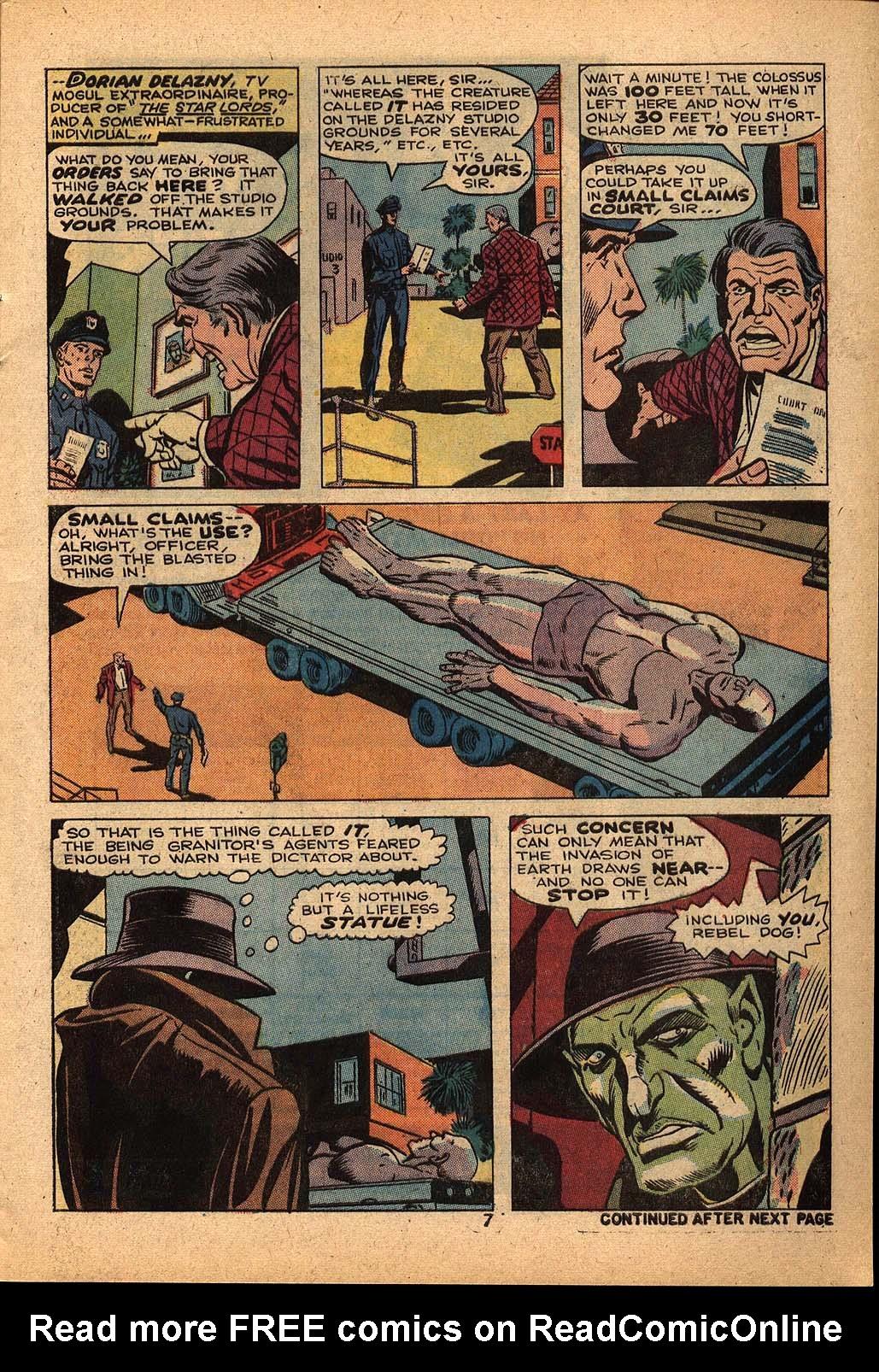 Read online Astonishing Tales (1970) comic -  Issue #22 - 5