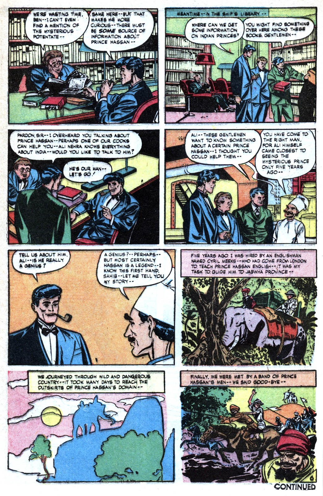 Read online Famous Funnies comic -  Issue #190 - 8