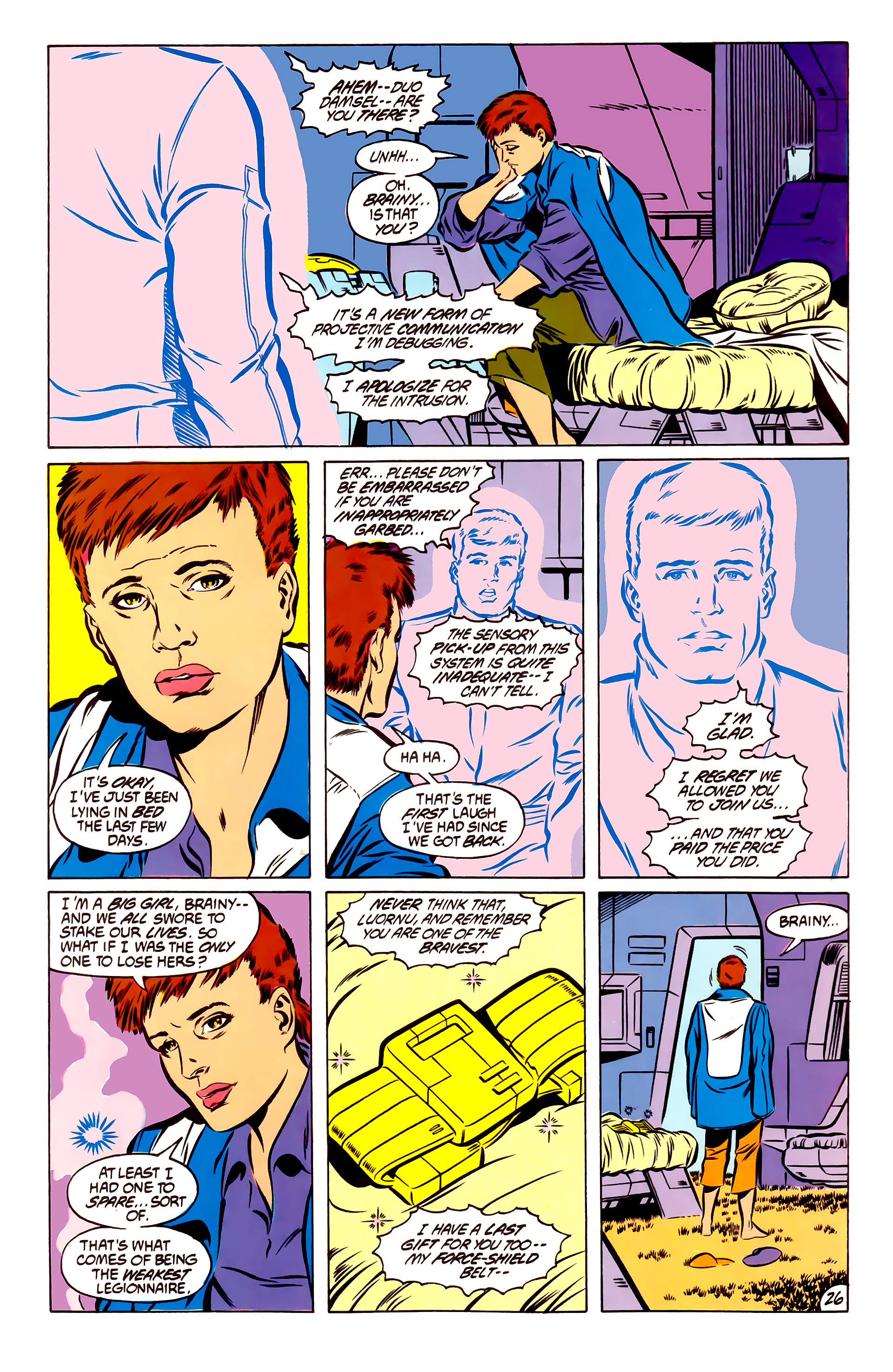 Legion of Super-Heroes (1984) 51 Page 26