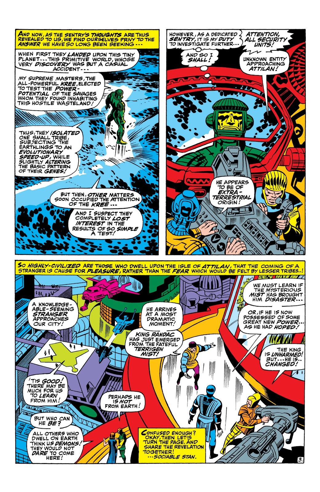 Read online Marvel Masterworks: The Inhumans comic -  Issue # TPB 1 (Part 1) - 15