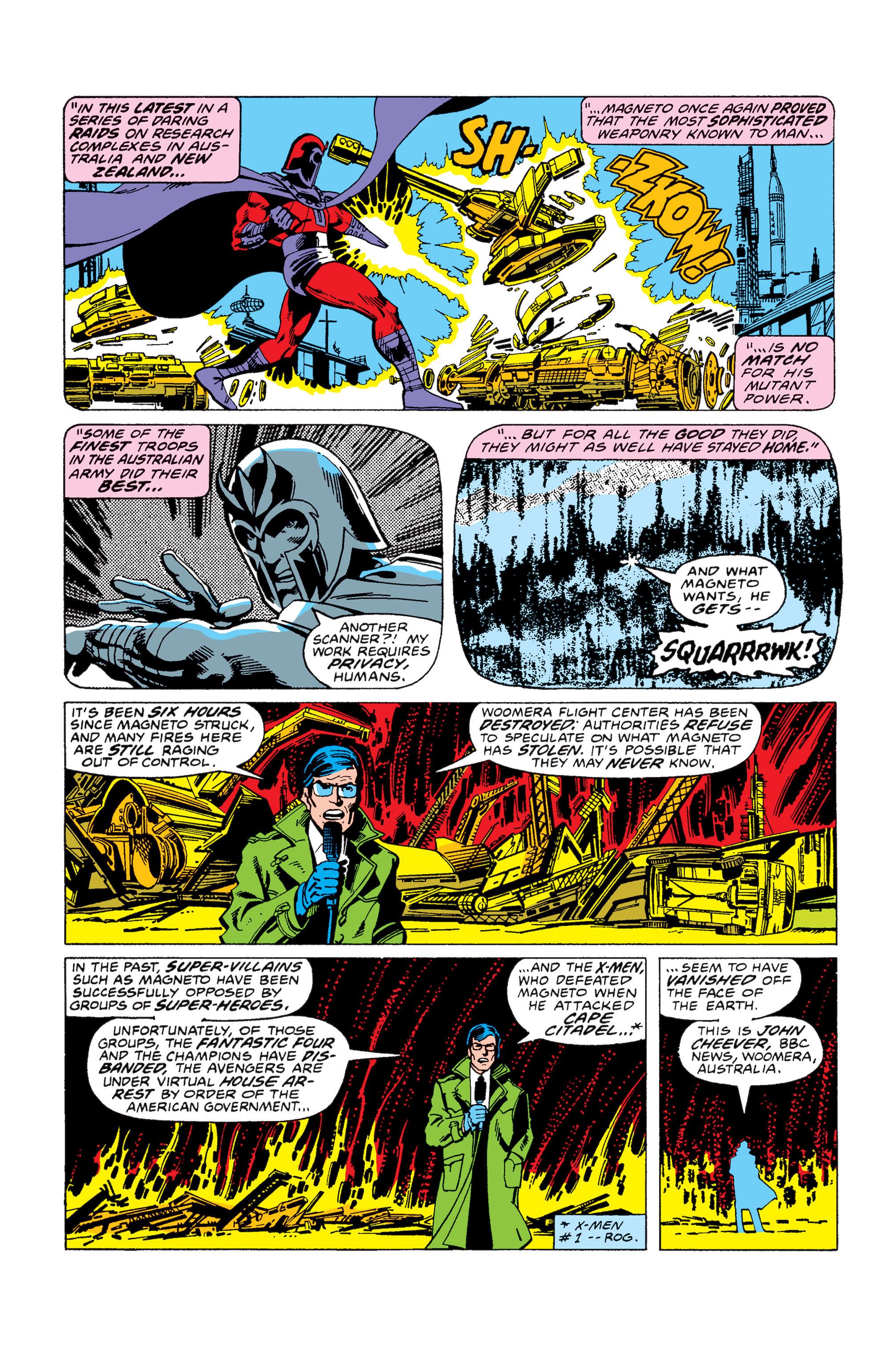 Uncanny X-Men (1963) 113 Page 2
