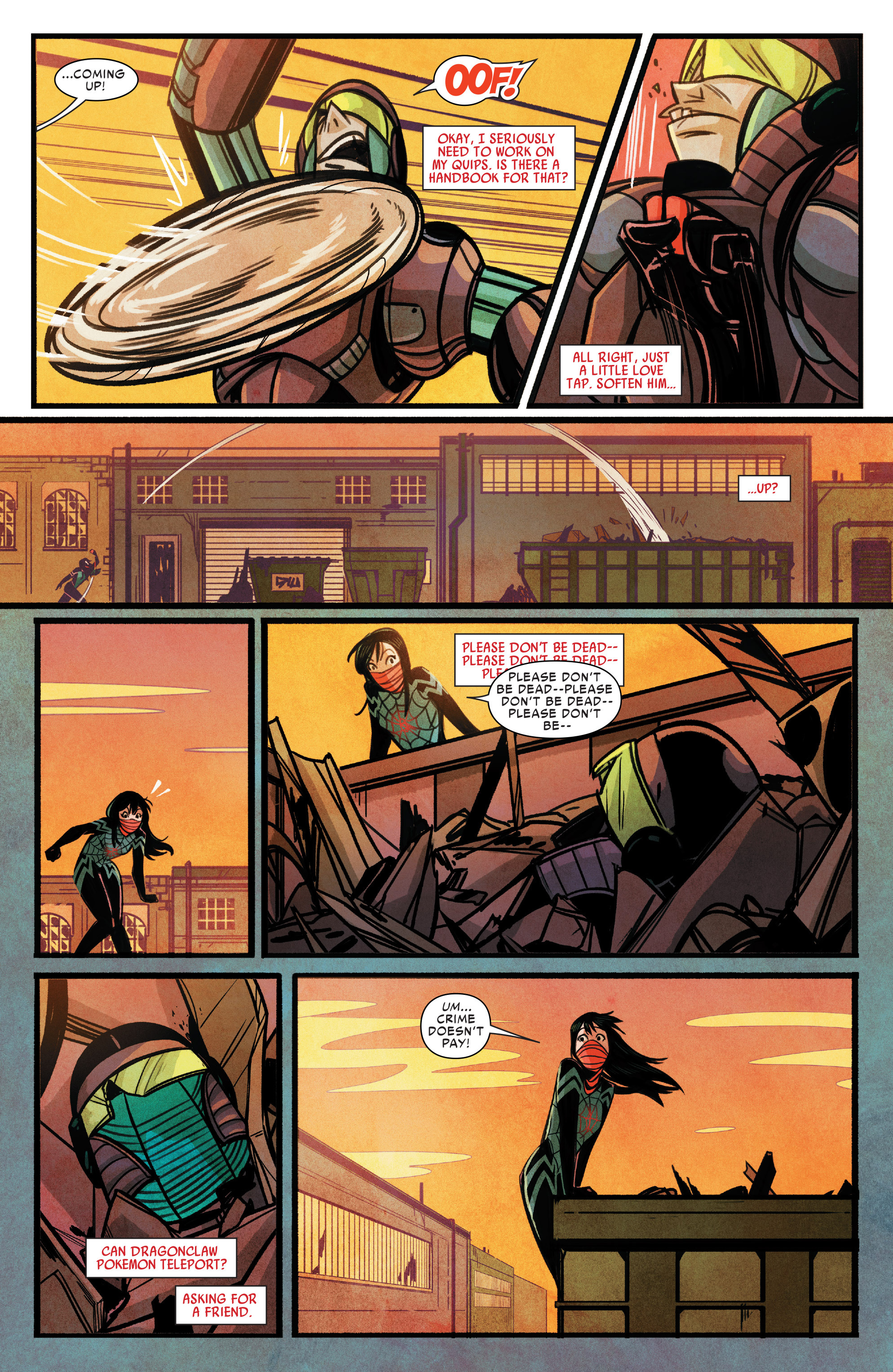 Read online Silk (2015) comic -  Issue #1 - 13