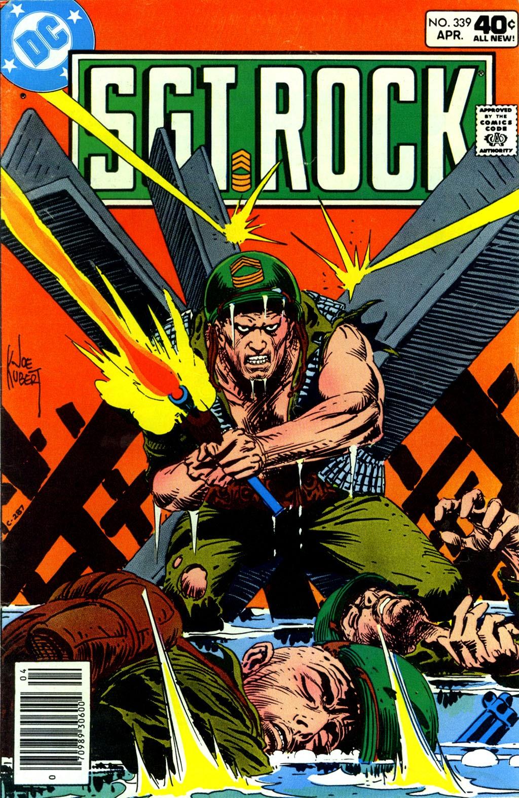Read online Sgt. Rock comic -  Issue #339 - 1