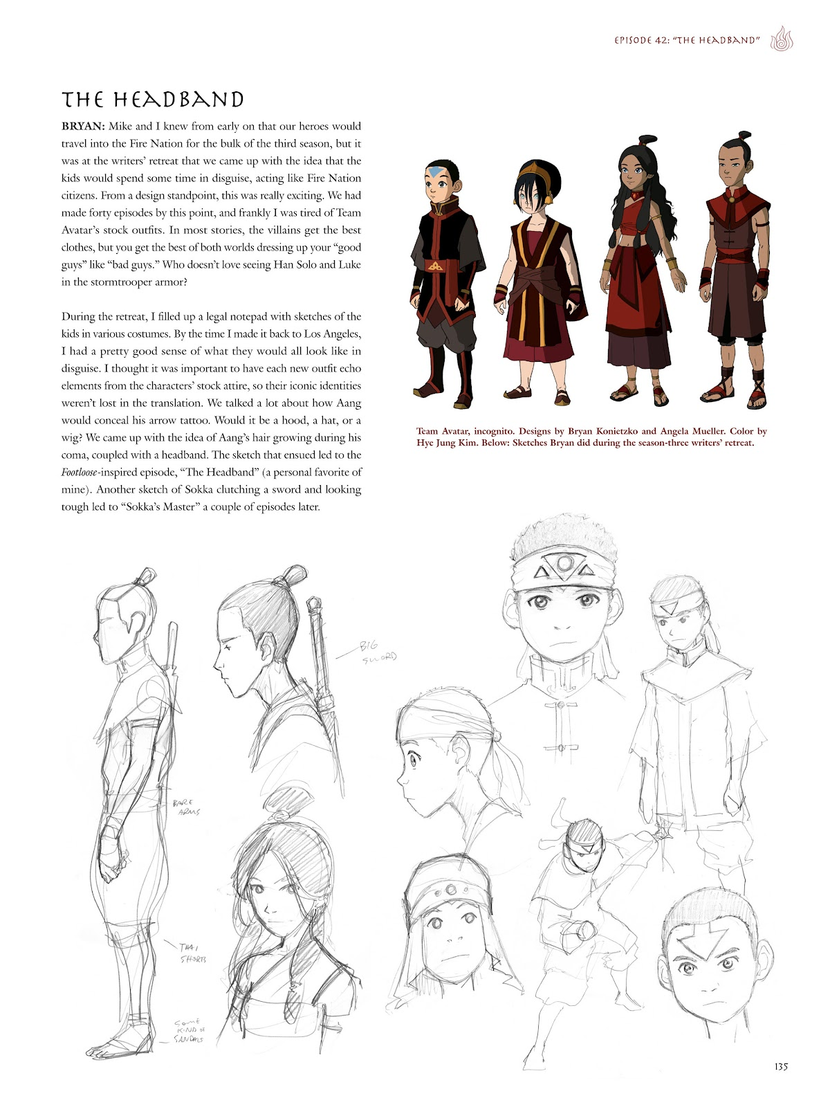 Read online Avatar: The Last Airbender - The Art of the Animated Series comic -  Issue # TPB (Part 2) - 32