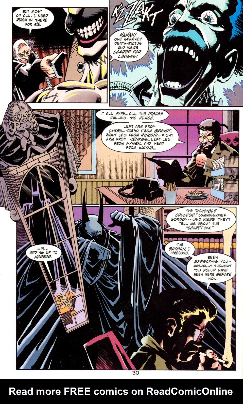 Read online Batman: Haunted Gotham comic -  Issue #1 - 32