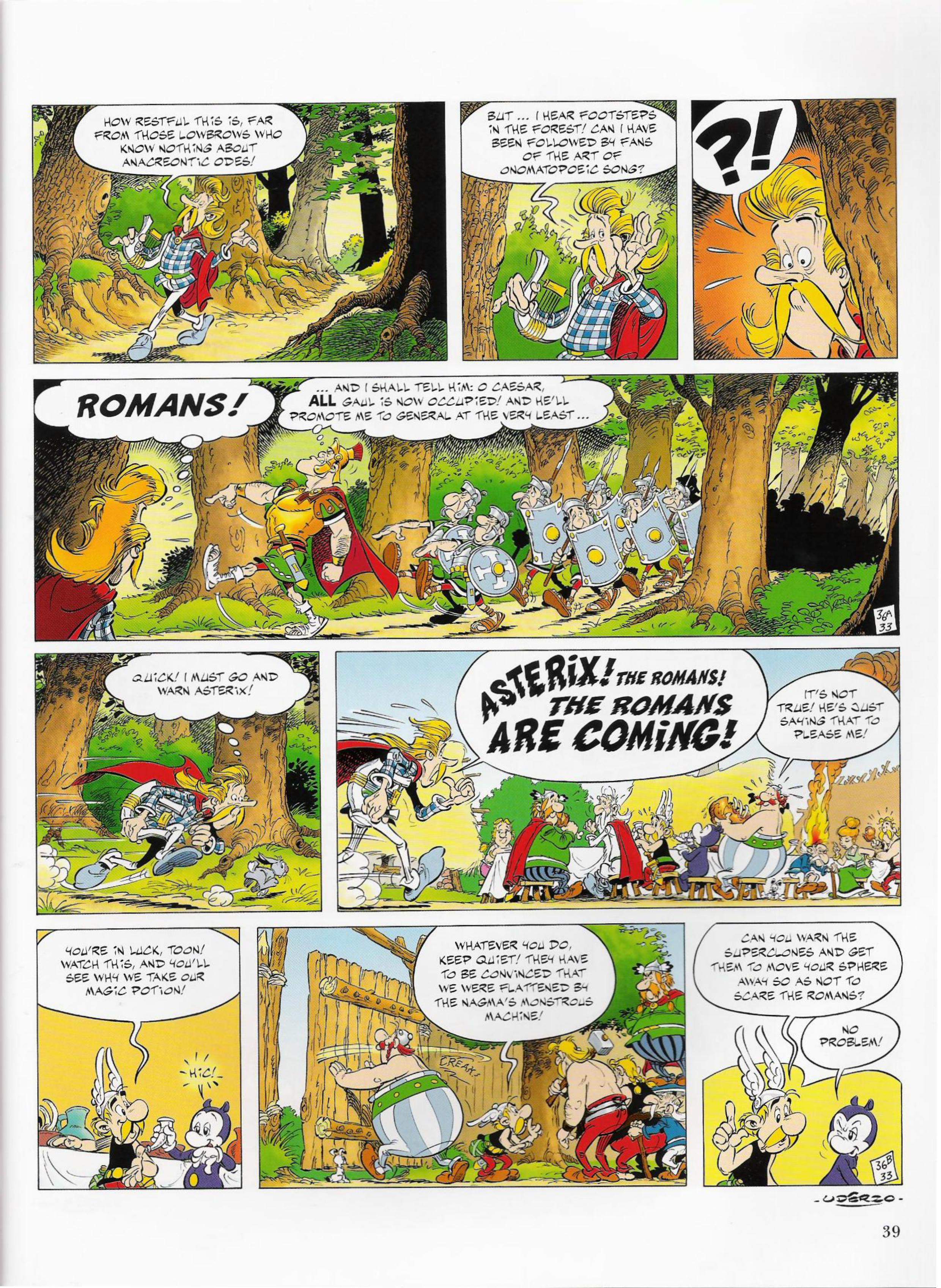 Read online Asterix comic -  Issue #33 - 39