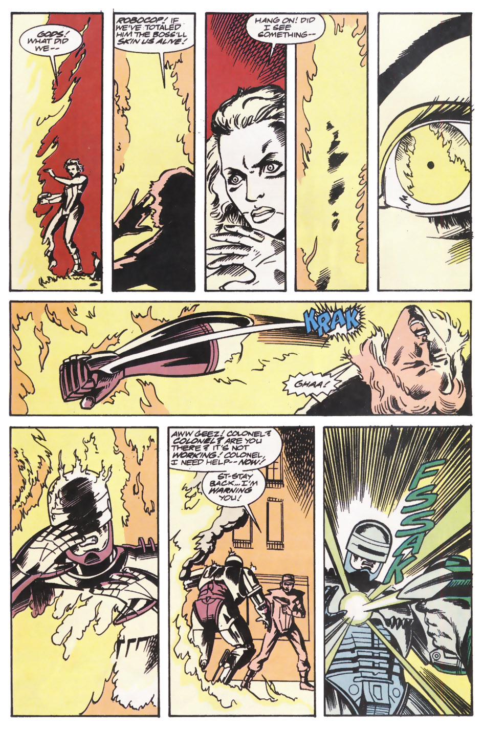 Read online Robocop (1990) comic -  Issue #14 - 13