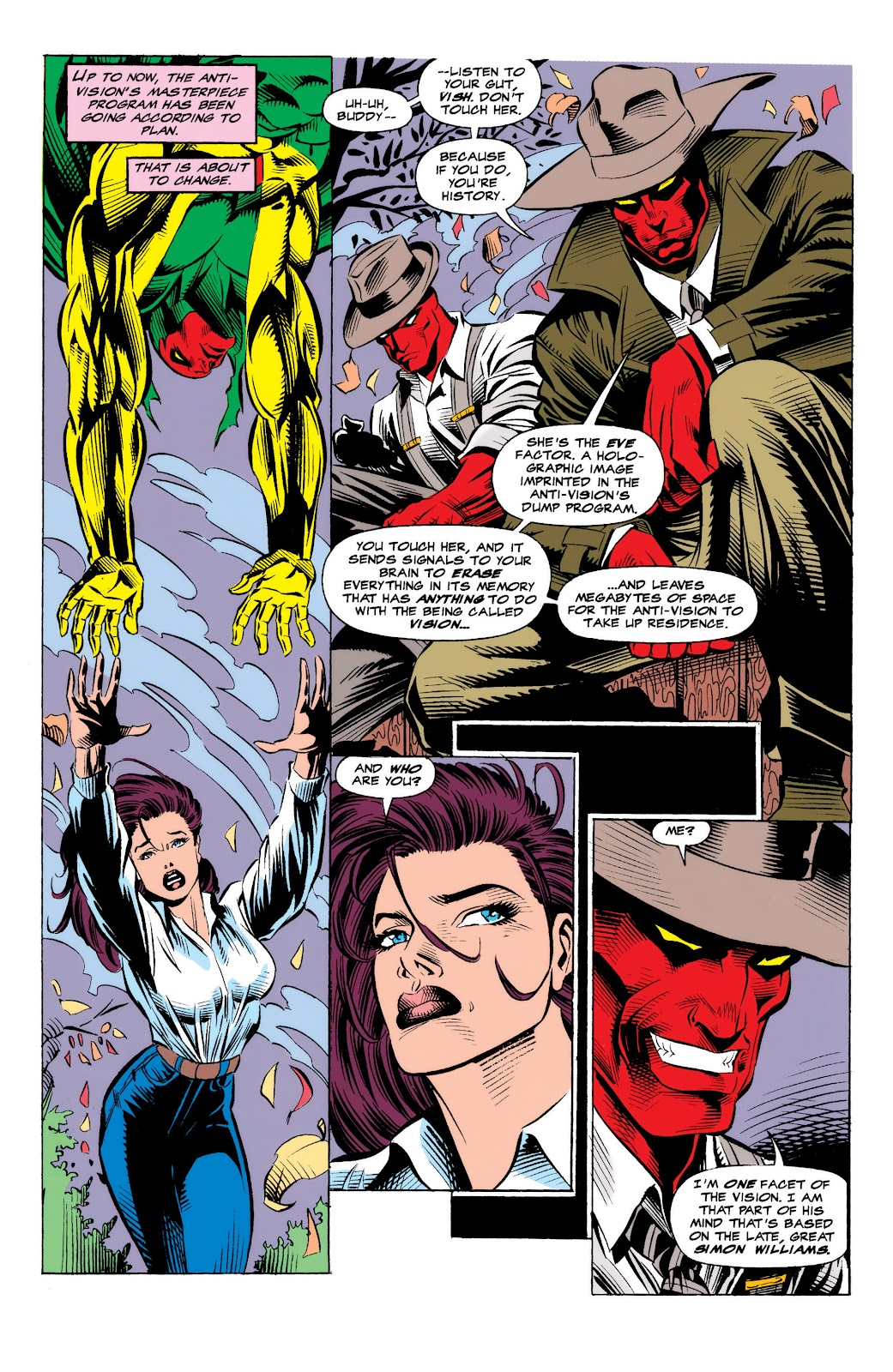 Read online The Vision comic -  Issue #4 - 10