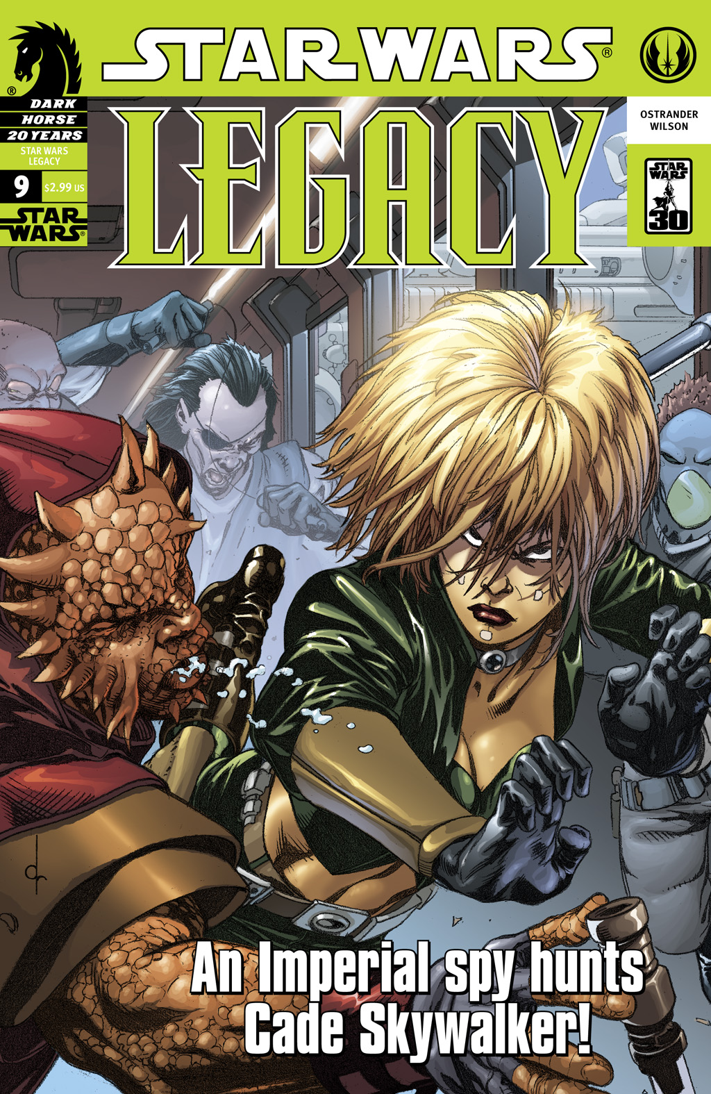 Star Wars: Legacy (2006) issue 9 - Page 1