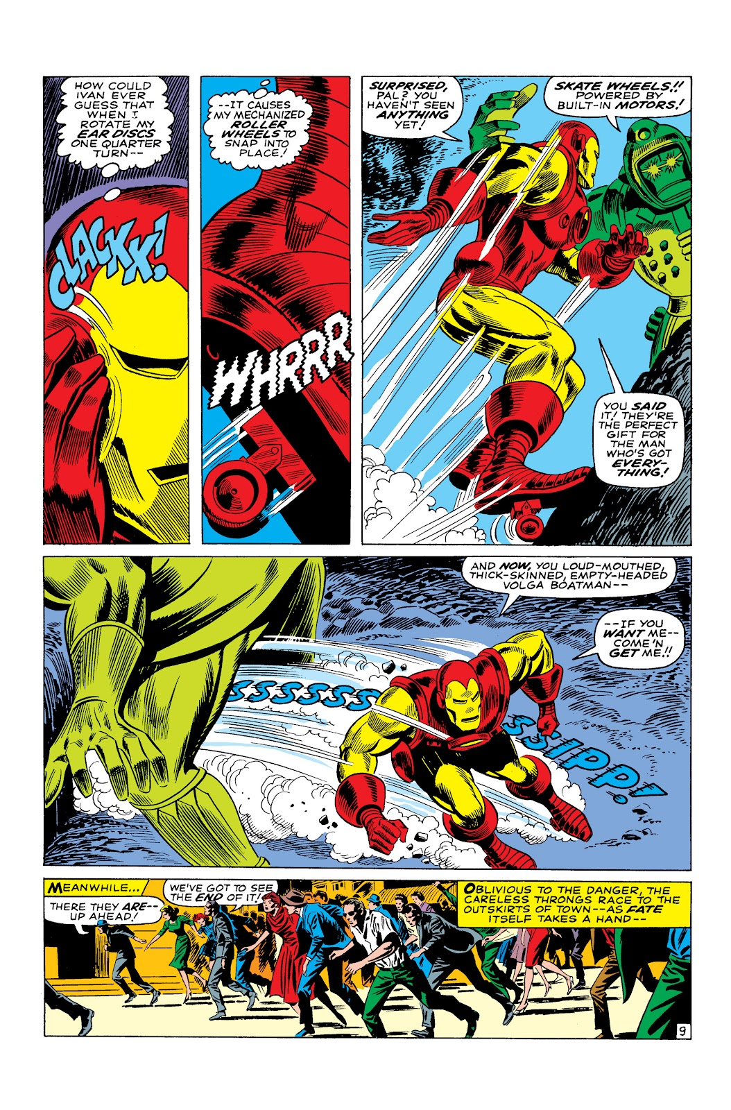 Read online Marvel Masterworks: The Invincible Iron Man comic -  Issue # TPB 3 (Part 4) - 80