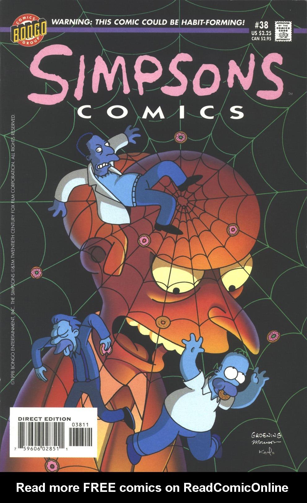 Read online Simpsons Comics comic -  Issue #38 - 1