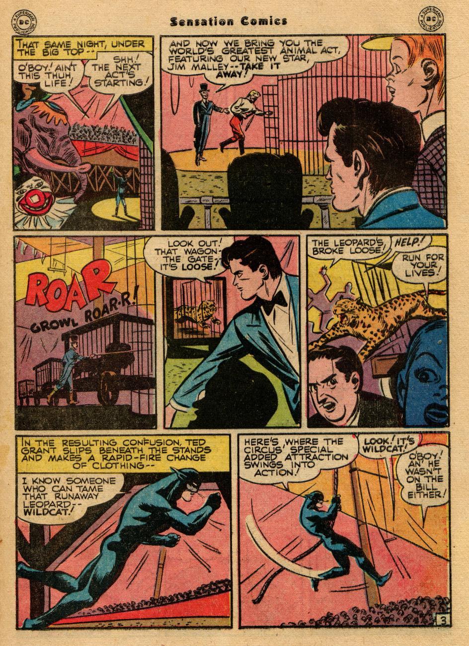 Read online Sensation (Mystery) Comics comic -  Issue #61 - 43