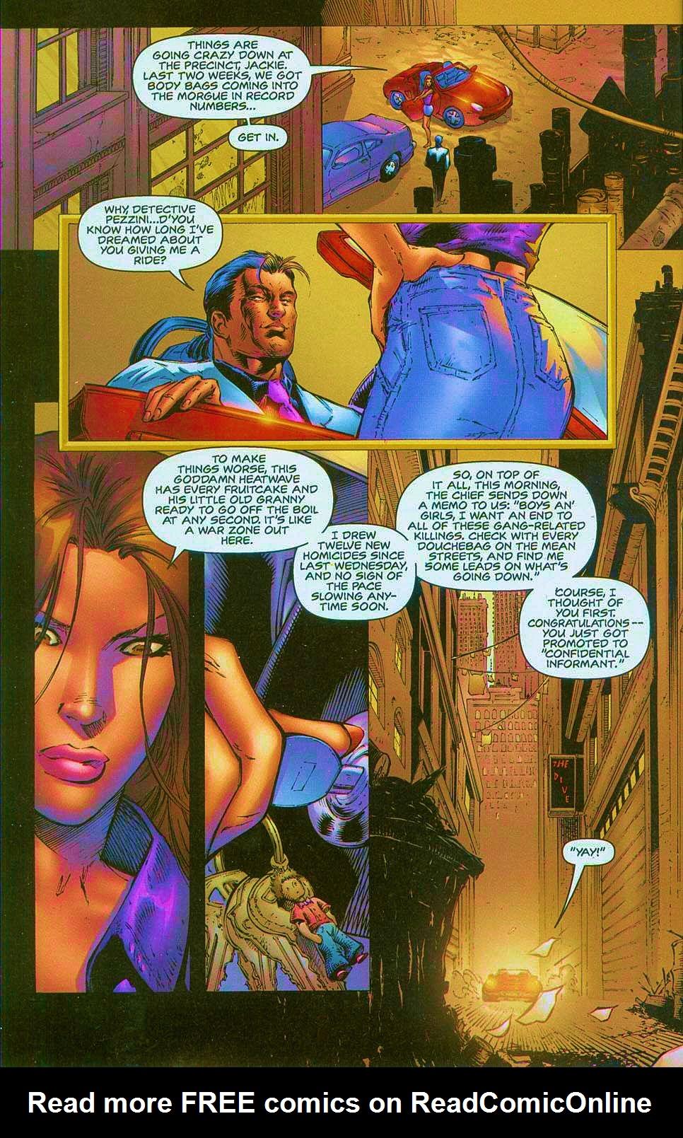 Read online Overkill: Witchblade/Aliens/Darkness/Predator comic -  Issue #1 - 19