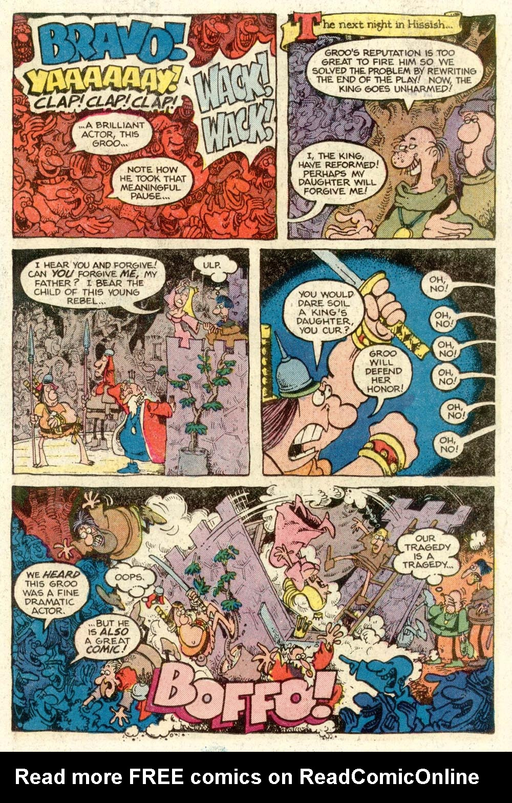 Read online Sergio Aragonés Groo the Wanderer comic -  Issue #12 - 14