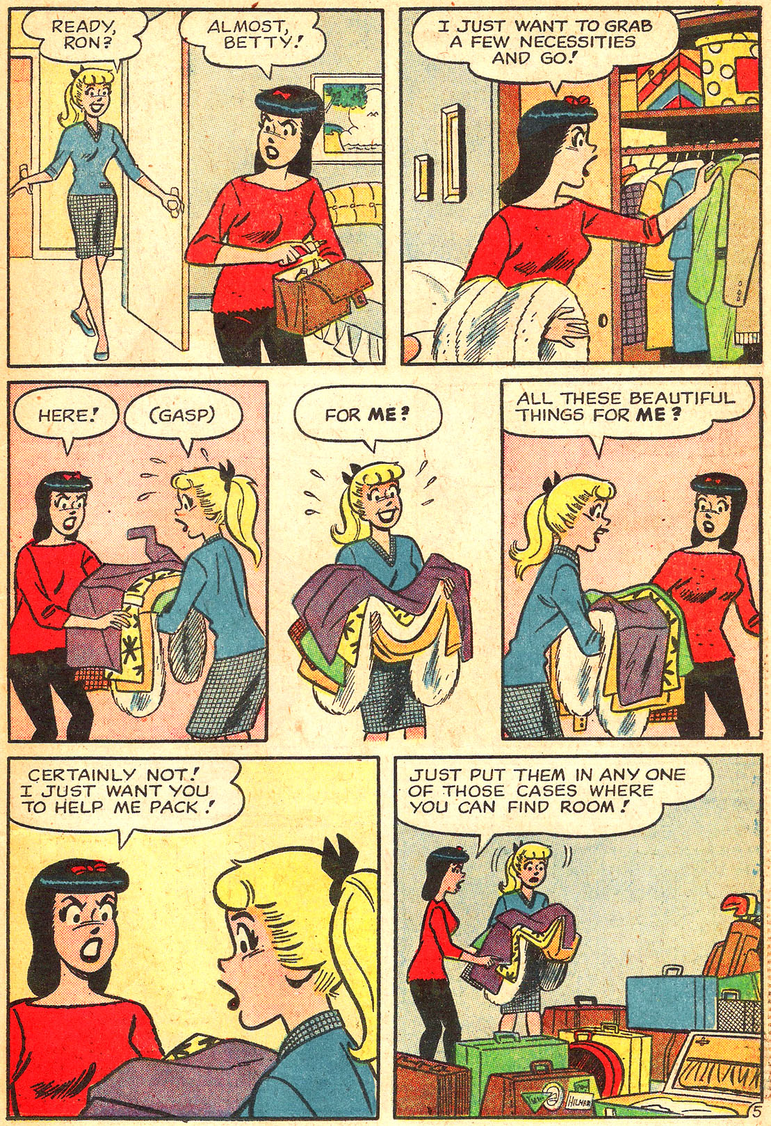 Read online Archie's Girls Betty and Veronica comic -  Issue #87 - 7