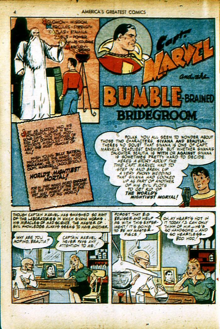 Read online America's Greatest Comics comic -  Issue #4 - 4