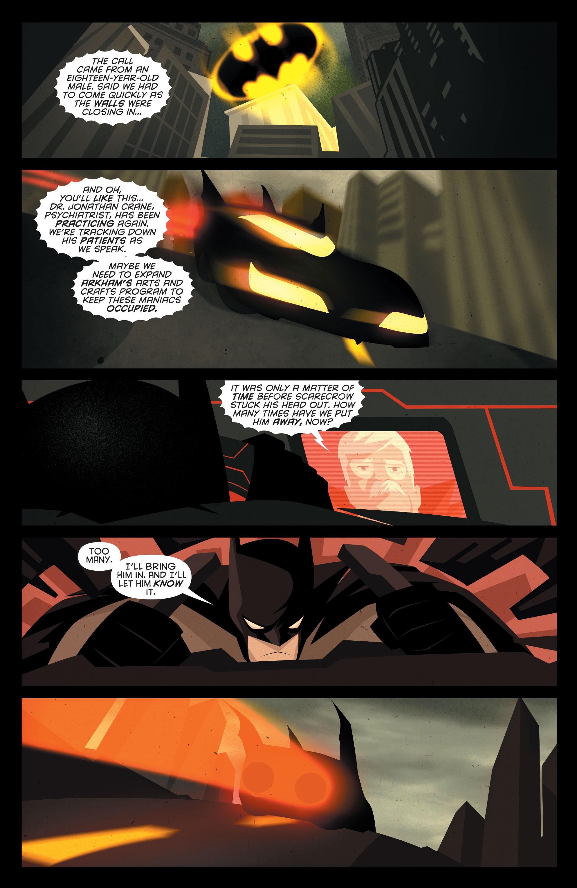 Read online Joker's Asylum: Scarecrow comic -  Issue # Full - 18