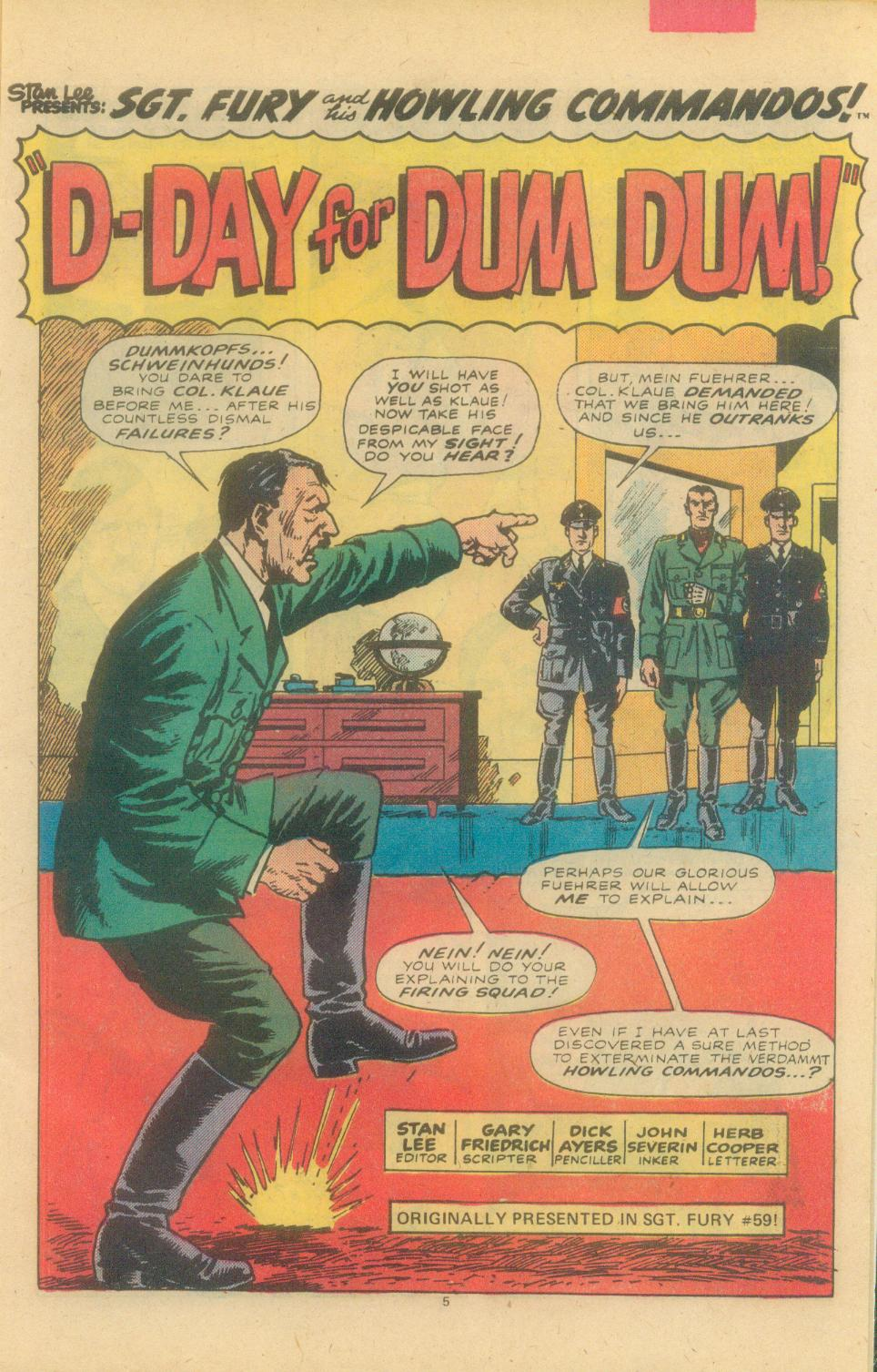 Read online Sgt. Fury comic -  Issue #155 - 7