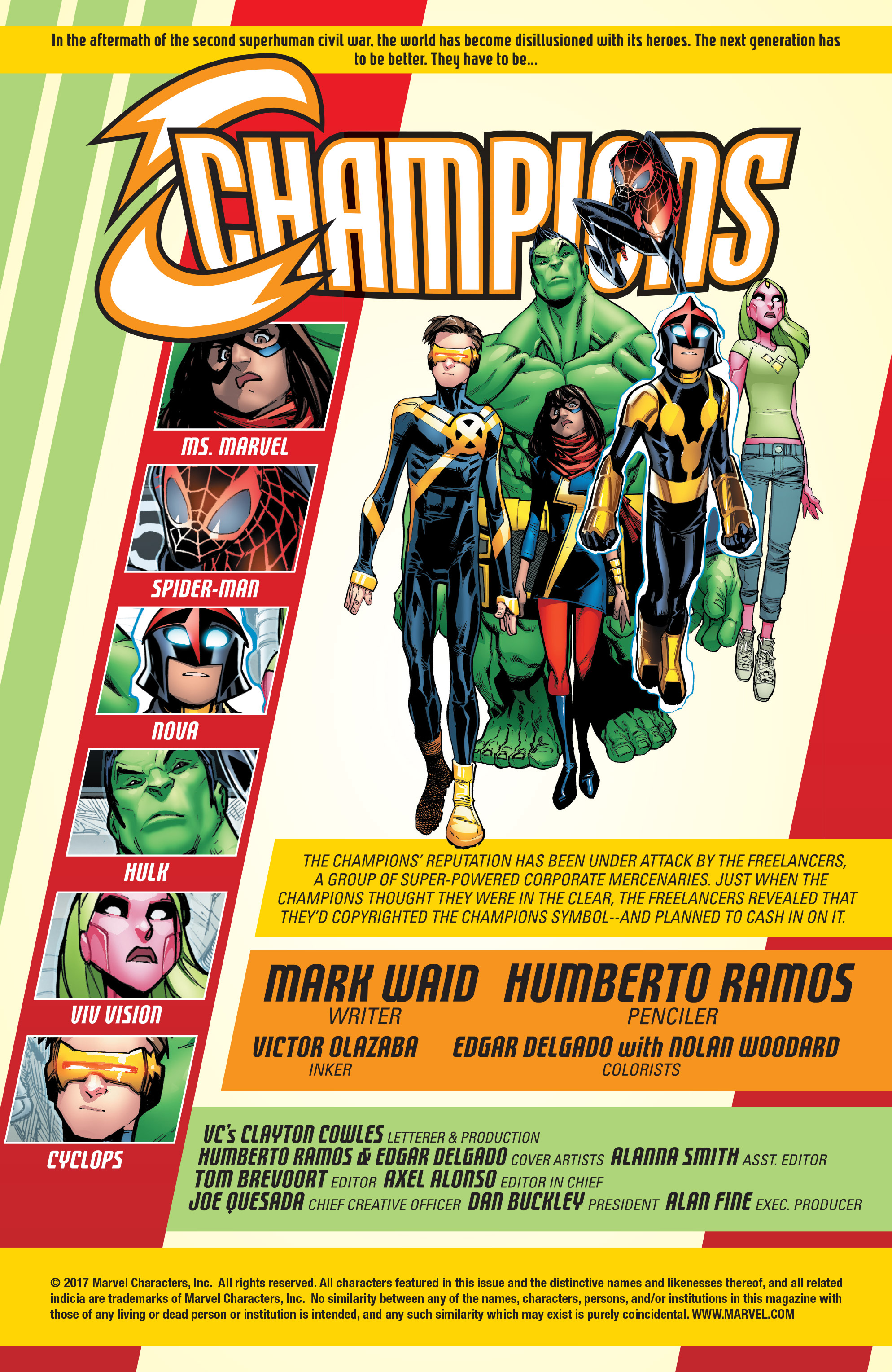 Read online Champions (2016) comic -  Issue #8 - 3