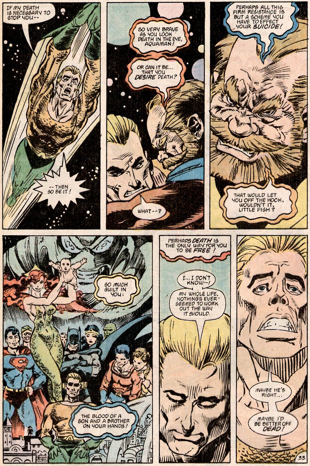 Read online Aquaman Special comic -  Issue #Aquaman Special Full - 34
