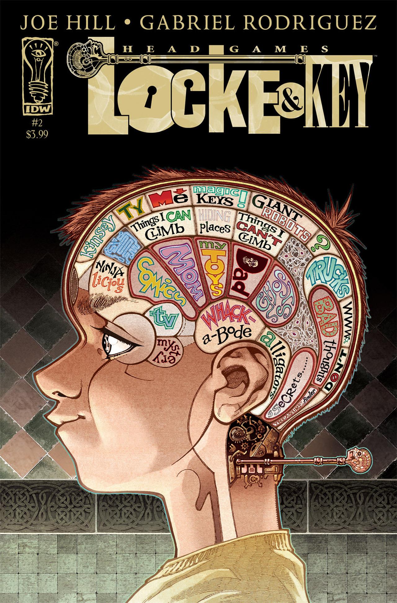 Locke & Key: Head Games 2 Page 1